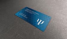 Дизайн визитки для психолога