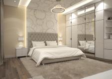 интерьер спальной комнаты / г. Бердичев