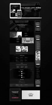 Сайт-портфолио частного веб-мастера