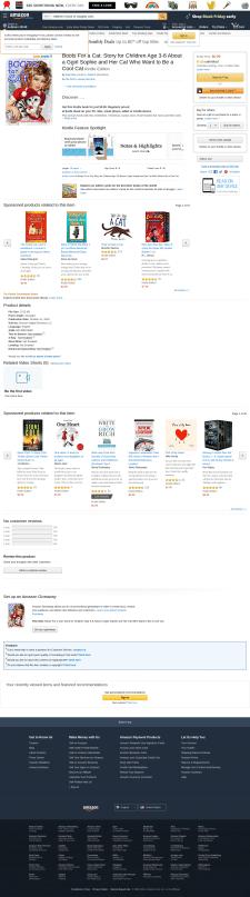 Верстка е-книги для Амазон