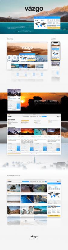 Vazgo - Дизайн сайта
