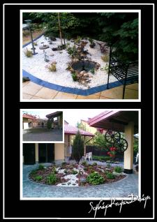 озеленение, частный дом