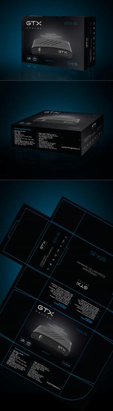 Дизайн упаковки для цифрового HD прийомника
