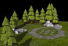 Карта для игры (ландшафт)