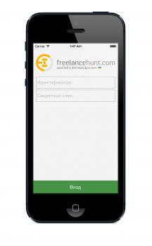 iOS клиент для http://freelancehunt.com/