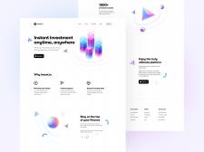 Invest.io Landing Page
