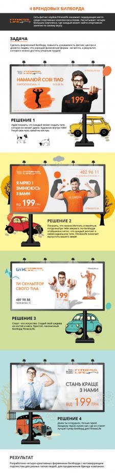 4 Брендовый билборда СпортЛайф