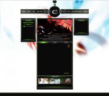 сайт для сервера