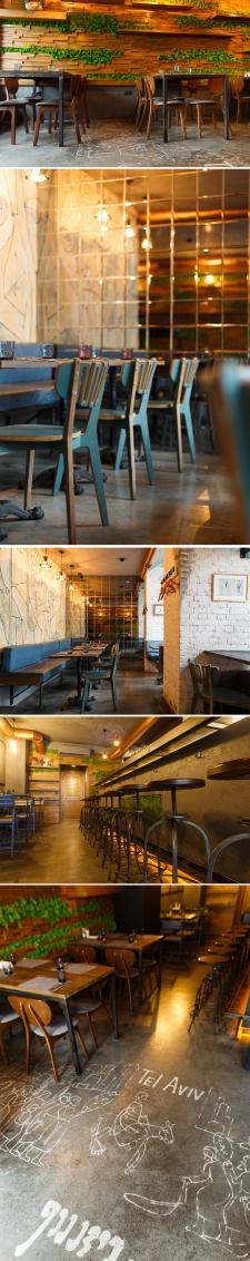 Dizyngoff cafe bar город Одесса