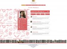 Дизайн для международного сайта знакомств
