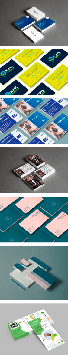 Business cards, flyer