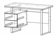 Моделирование компьютерного стола в стиле лофт