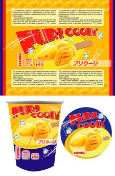 Конкурсная работа _ дизайн упаковки мороженого