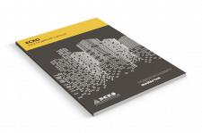 Дизайн фирменного блокнота для компании ЭСКО Киев
