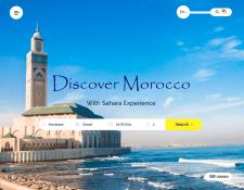 "Дизайн сайта ""Discover Morocco"""