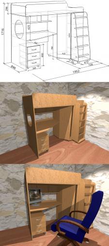 3D-моделювання меблів в PRO100