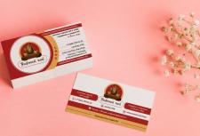 Примеры визиток для чайного магазина