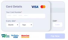 Форма оплаты для сайта с динамикой