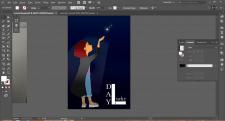 Разработка векторных персонажей