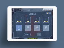 Дизайн интерфейса игры Bomber 3d