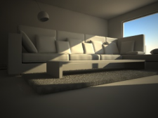 Render without material