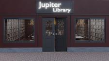 Визуализация и дизайн фасада библиотеки