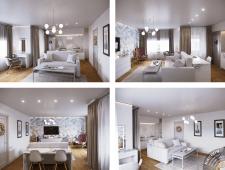 Дизайн 1к квартиры