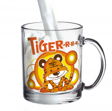 Деколь на чашку TIGER-R-R-R