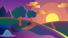 Пейзаж (Simple)