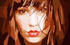 стилизация портрет
