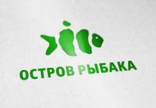 Логотип Остров рыбака