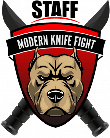 Логотип секции боев на ножах