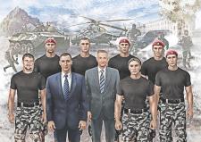 """Рисунок группы для """"СБ Восток""""."""