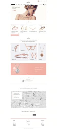 Концепт дизайна магазина для ювелирки