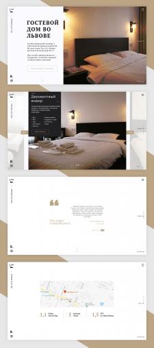 "Дизайн промо-сайта ""Zzz Lviv Rooms"""