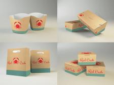 """Дизайн упаковки """"red crab"""""""