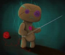 Персонаж лялька-вуду