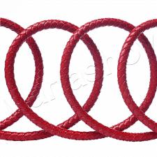 Съемка плетеных кожаных шнуров