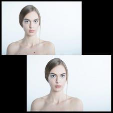 Обработка студийного фото