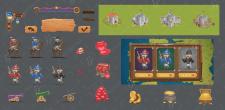 Графіка для гри  UX&UI