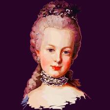 Портрет Марії Антуанетти королеви Франції