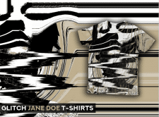 Glitch Jane Doe T-Shirts
