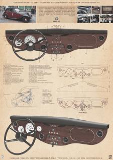 Панель приборов для BMW 321