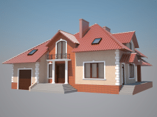 Фасадный дизайн 1