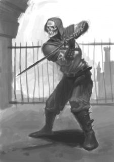 Воин-скелет