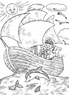 Иллюстрация к детским стихам