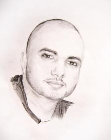 Портрет карандаш А3