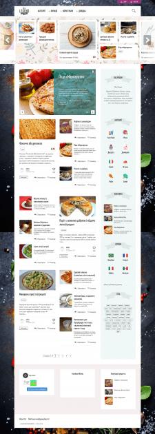 Сайт под ключ Рецепты