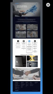 IT Service ⎮Homepage⎮BM Design