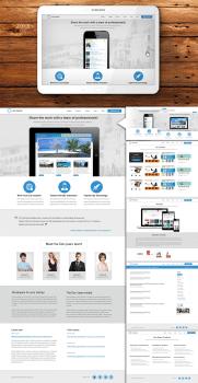 Дизайн сайта IT-студии